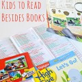 10 Things for Kids to Read Besides Books