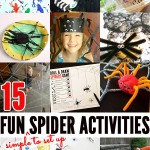 15 Fun Spider Activities for Toddlers and Preschoolers
