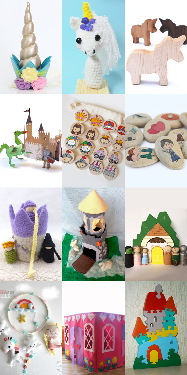 50 Handmade Magical Folk & Mythical Creature Kids Gift Ideas. Great gifts for imaginative kids