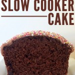 Choc Banana Slow Cooker Cake