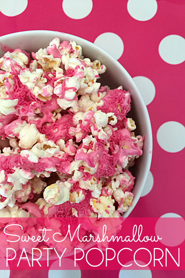 Sweet Marshmallow Party Popcorn Recipe: Perfect for kids parties or your next family movie night