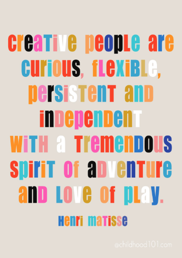 9 Ways to Encourage a Child's Creativity (and why it's so important}