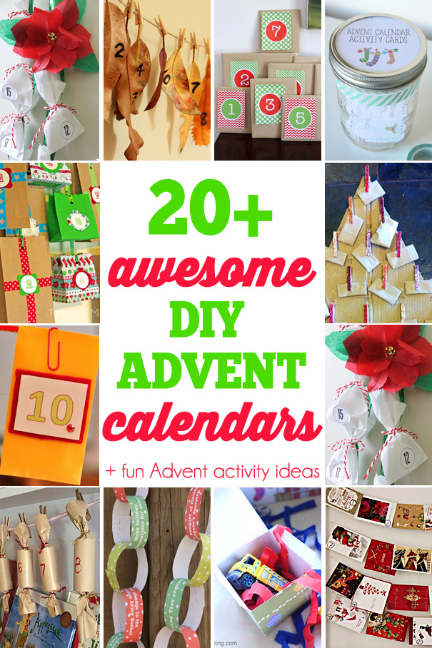 20+ awesome DIY advent calendars plus bonus Advent activity ideas