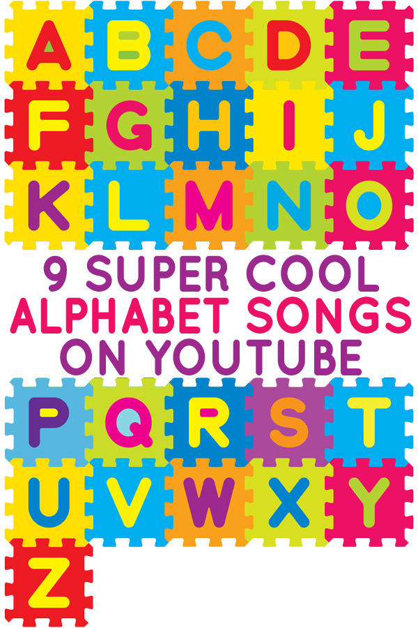 9 Fun Alphabet Songs on YouTube