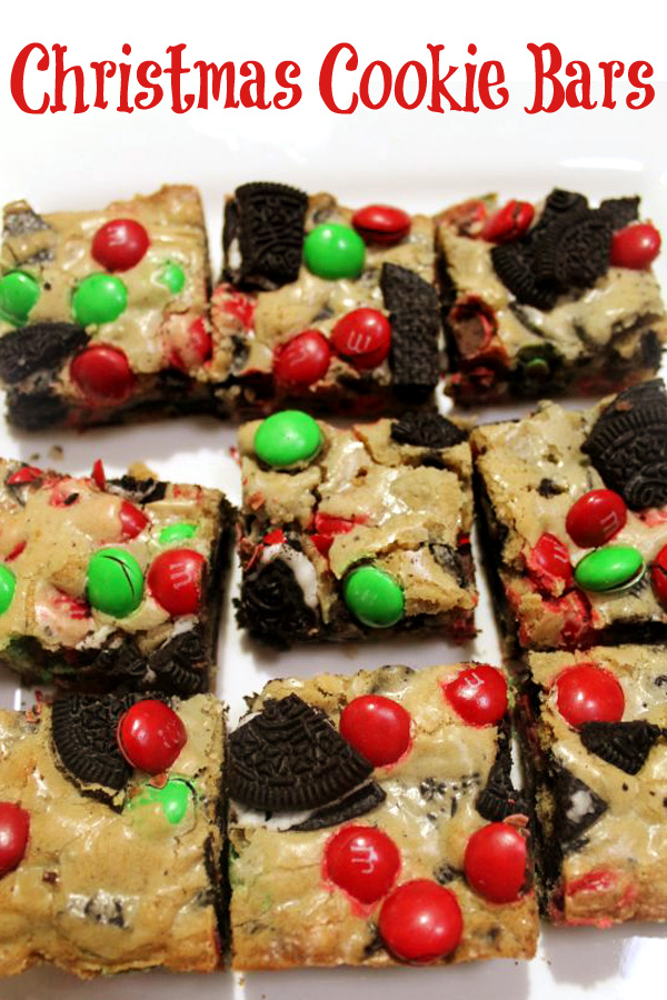 Christmas Cookie Bars Recipe