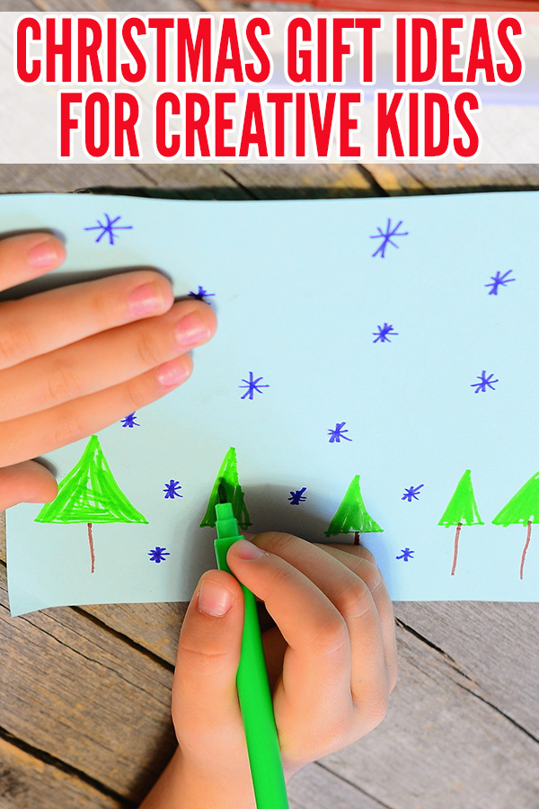 Christmas Stocking Stuffers for Creative Kids