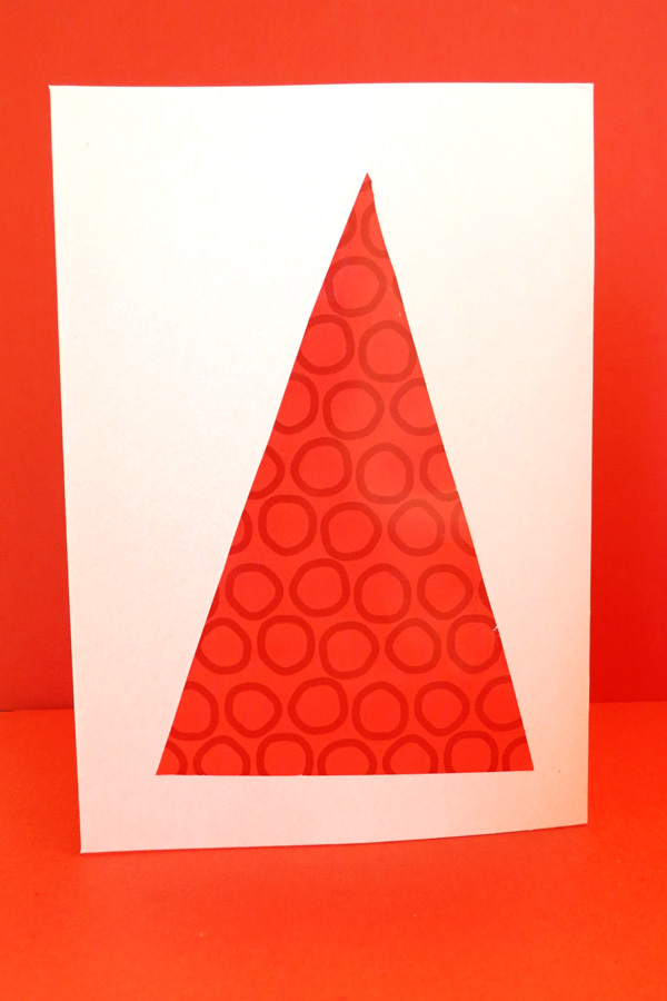 Christmas craft projects for kids: Pop Up Christmas Tree Cards