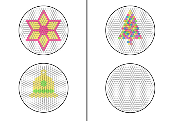 Christmas ornaments with free printable patterns