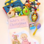 Christmas stocking stuffer and gift ideas for baby's first Christmas