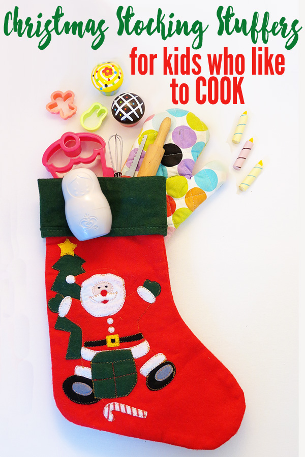 Christmas Stocking Stuffers for Kids Who Like to Cook