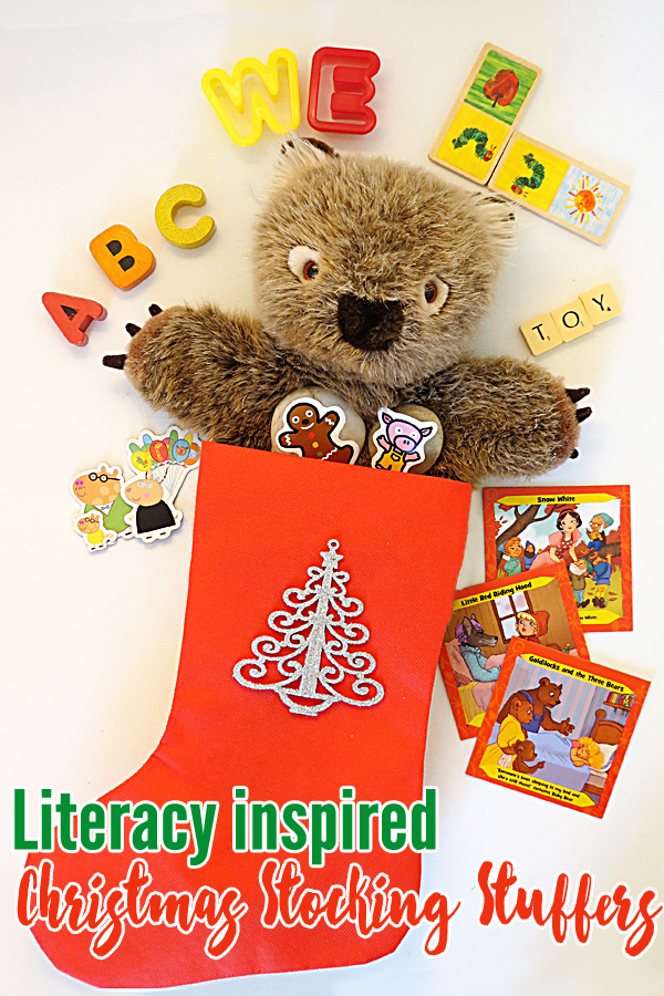 Literacy Inspired Christmas Stocking Stuffers