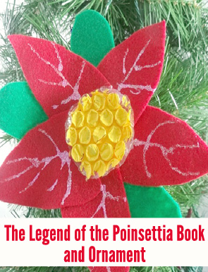 photograph regarding The Legend of the Poinsettia Printable Story named 7 Publications Celebrating Xmas In close proximity to the Earth