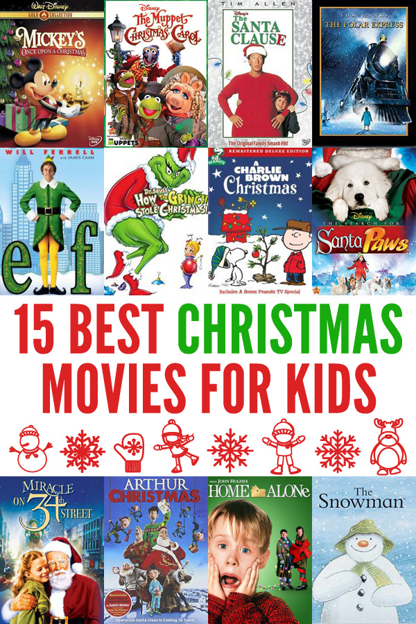 15 best christmas movies for kids as voted by kids and parents - The Best Christmas Movies
