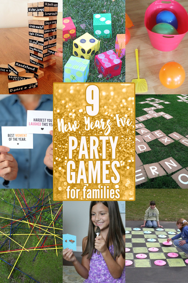 9 New Years Eve Games for Families