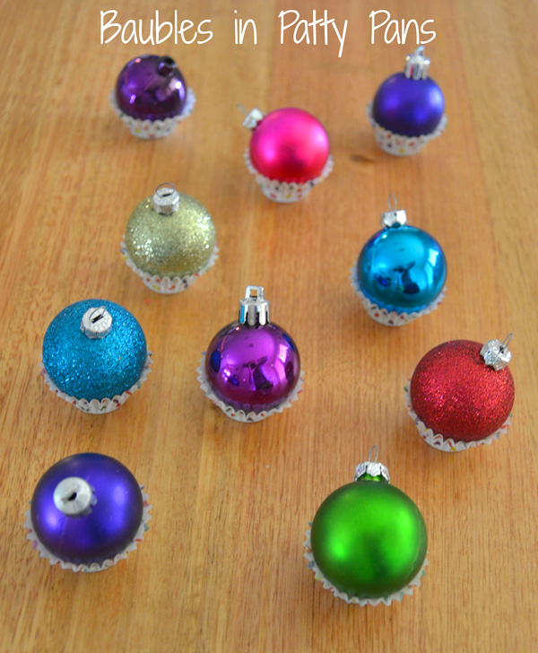 5 Christmas Busy Bags: Bauble Balance