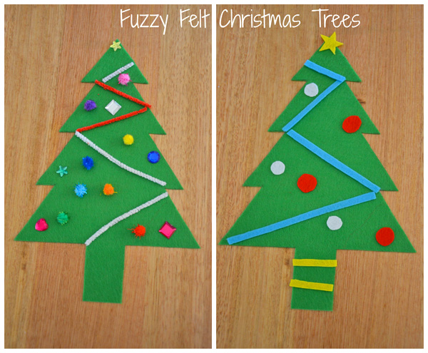 5 Christmas Busy Bags: Felt Christmas Tree