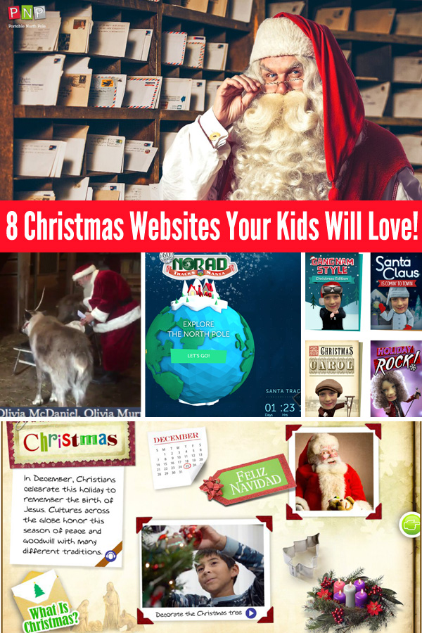 8 Christmas Websites Your Kids Will Love!