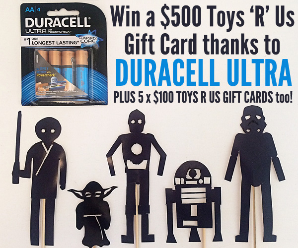 Duracell Ultra Giveaway