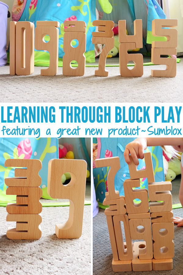 Learning through block play: Introducing Sumblox