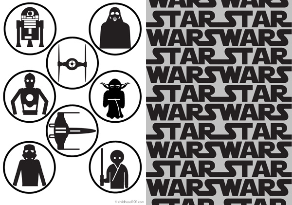 Star Wars Printable Memory Cards with 7 ways to play