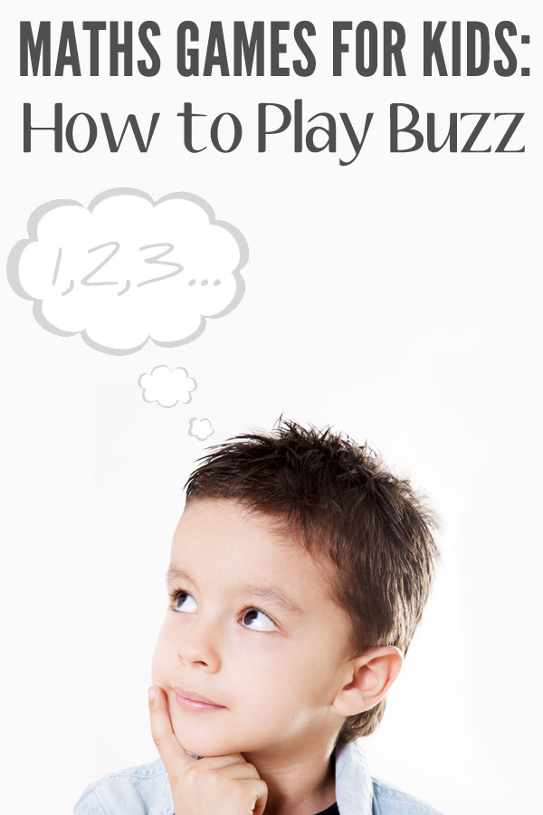 Maths Games For Kids: How to Play Buzz