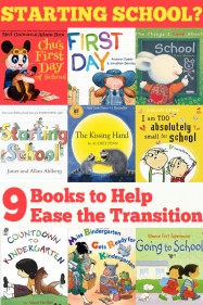 9 Books to Help Children Transition to School