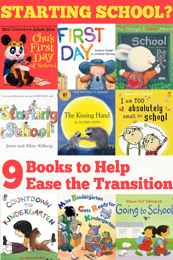 9 Great Starting School Picture Books