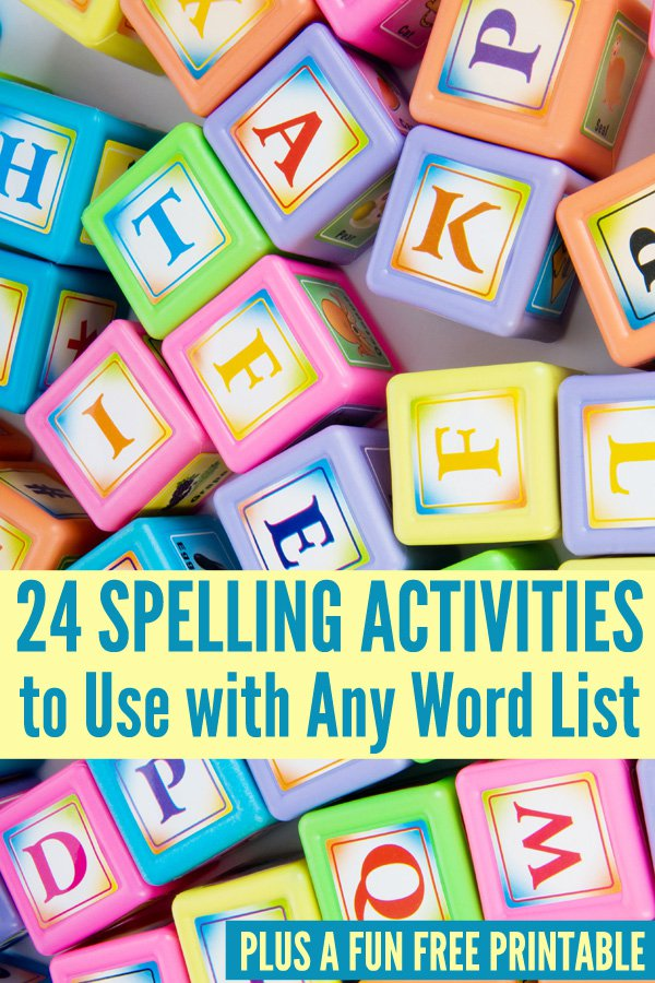 24-Spelling-Activities-to-Use-With-Any-Word-List
