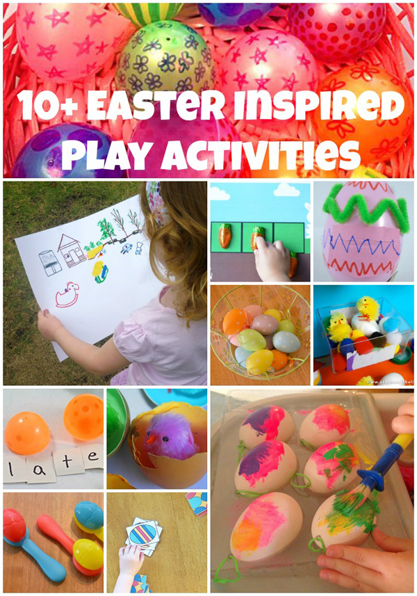10+ Easter Inspired Play Activities