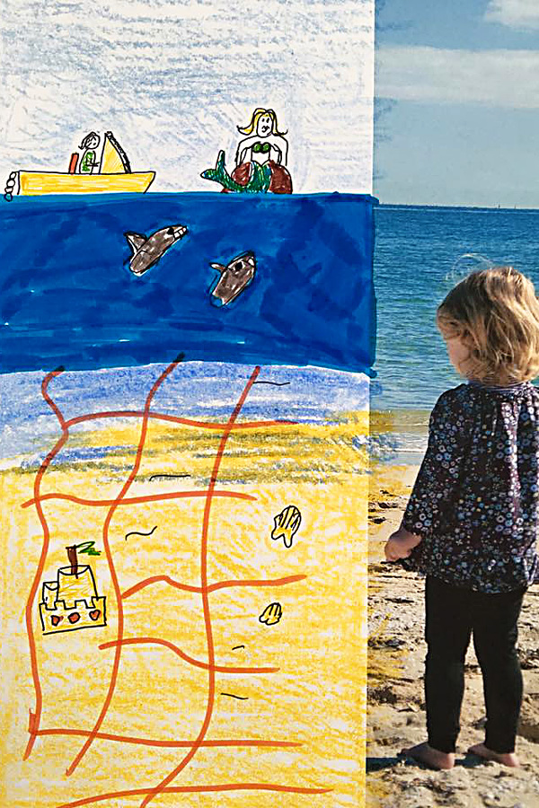Kids Art Ideas: Star In Your Own Art By Creating Art with Your Own Photos