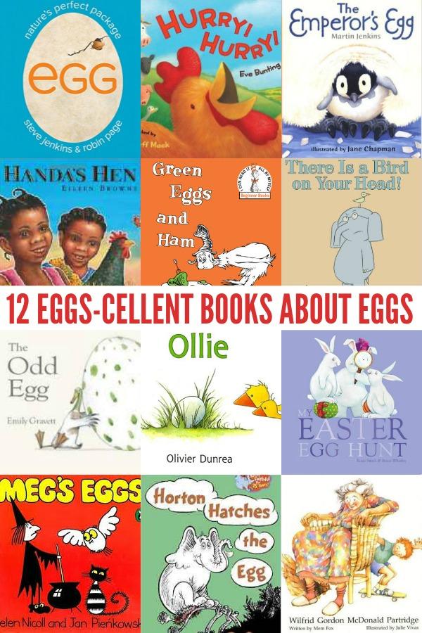12 Eggs-cellent Books About Eggs!