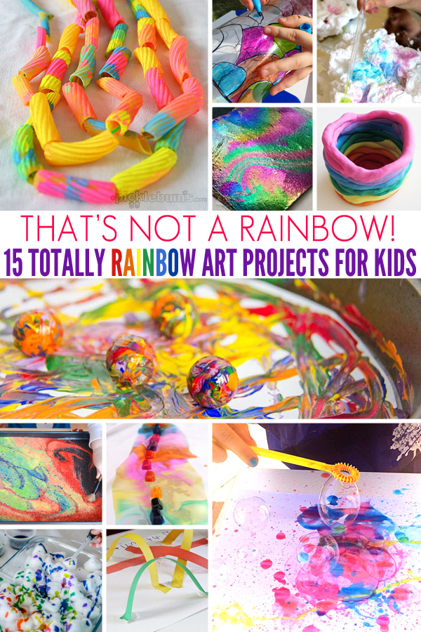 That's Not a Rainbow! 15 Totally Rainbow Art Projects for Kids