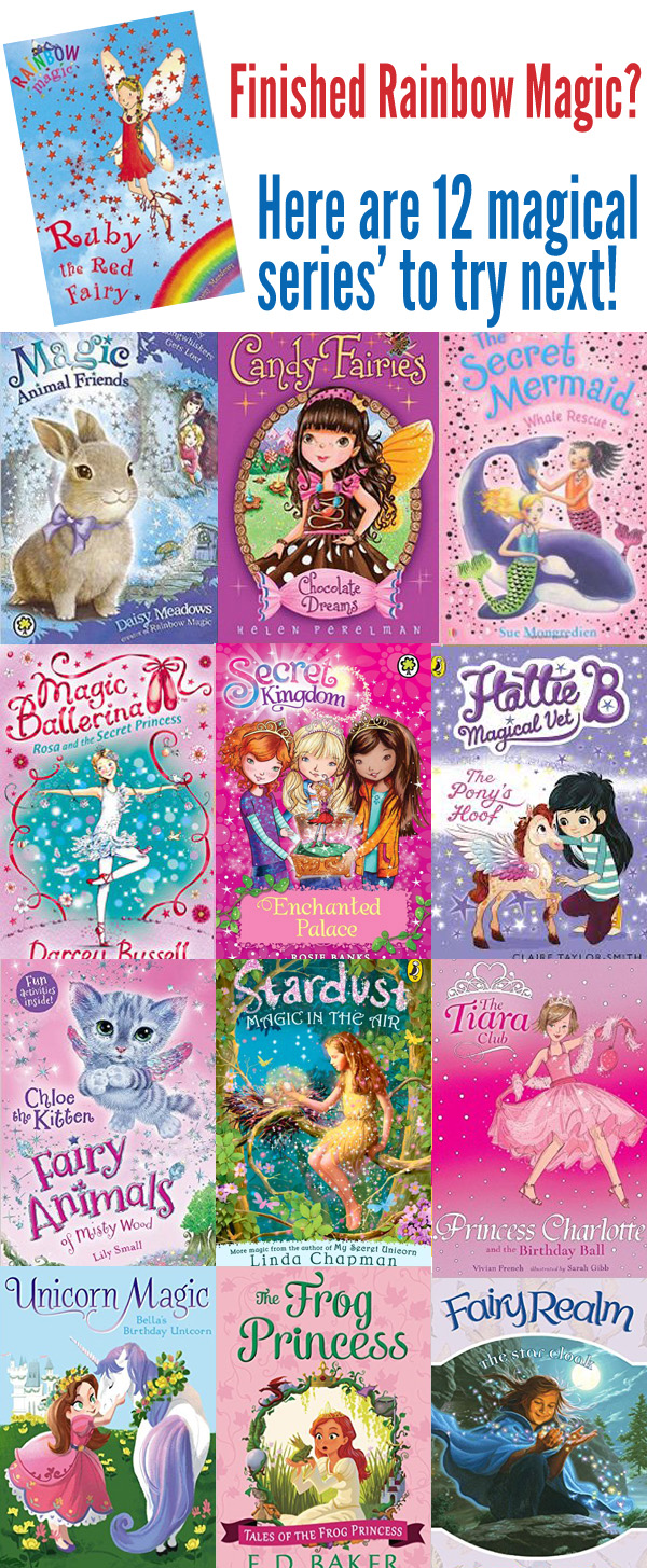 12 Magical Book Series for Kids Who Love Rainbow Magic