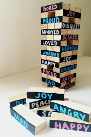 Exploring Big Emotions Jenga Game