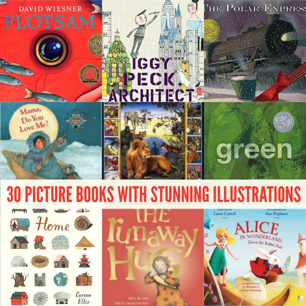 30 Picture Books with Stunning Illustrations and Fabulous Storylines