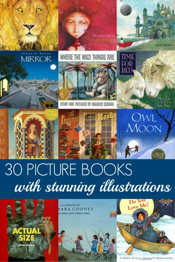 30 of the Most Beautiful Picture Books Ever