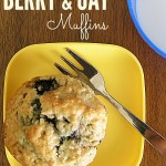 Easy Berry & Oat Muffins Recipe