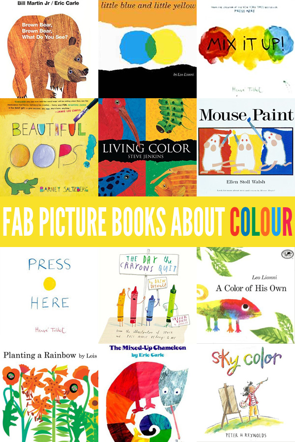 12 Fab Picture Books About Colour (and Color!)