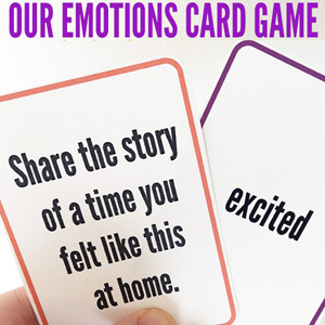 Our Emotions Card Game