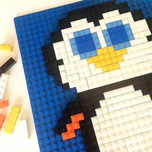 Free Printable Lego Mosaics for Kids