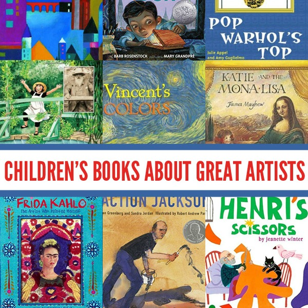 12 fabulous picture books that each explore the lives and artwork of a range of master artists, each with a unique style and view of the world. Children can learn so much about expressing their own thoughts and ideas from the masters.
