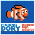 Finding Dory Lego Mosaic Free Printables