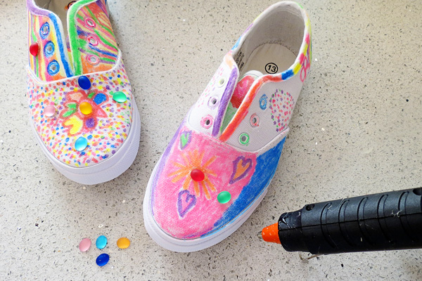 Decorate Your Tennis Shoes