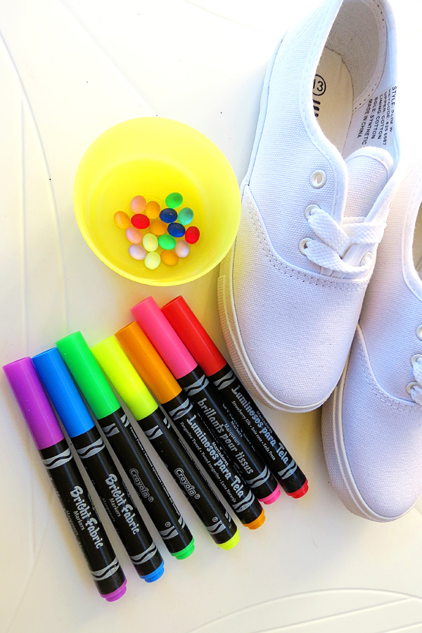Fun Art for Kids: Create Your Own Decorated Shoes