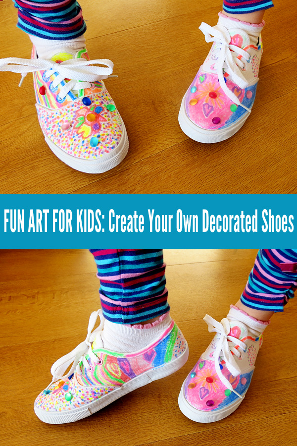 Fun Crafts for Kids: Create Your Own Decorated Shoes