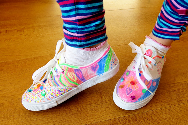 Fun Craft Projects for Kids: Create Your Own Decorated Shoes