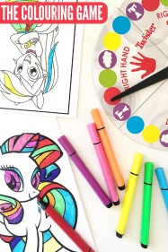 Fun Games for Kids: The Colouring Game