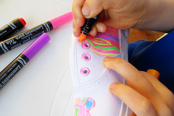 Fun Vacation Projects for Kids: Create Your Own Decorated Shoes