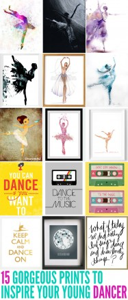 15 Gorgeous Prints to Inspire Your Young Dancer
