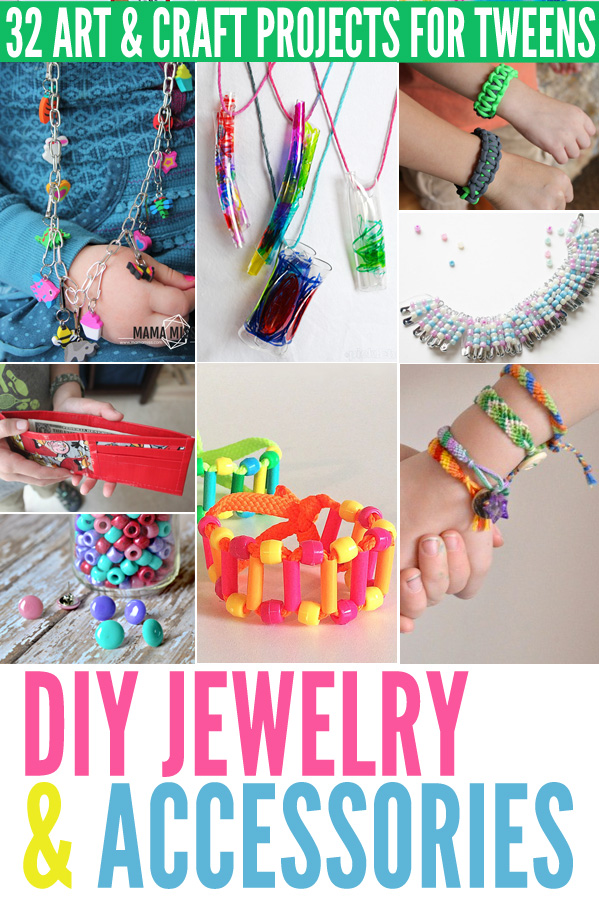 32 Art Craft Projects For Tweens